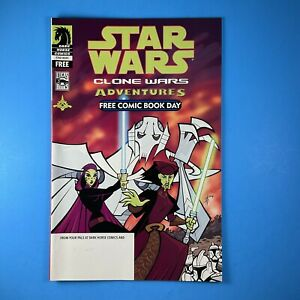 Star Wars Clone Wars Adventures 1st General Grievous FCBD Dark Horse Comics 2004