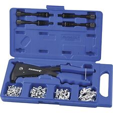 Kincrome SINGLE HANDLE BLIND NUT RIVETER KIT 85Pcs Moulded Grips K4700 *Aust
