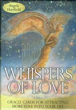 Whispers of Love Oracle Cards by Angela Hartfield NEW and Sealed