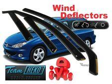Peugeot 206 1998 - 2006 ESTATE 5.doors Wind deflectors 4.pcs  HEKO  26122