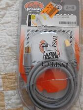 Geek Squad GS-6UAB 6 Foot A-B USB Gold Cable - New