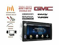 GMC SIERRA SAVANA YUKON ENVOY Touchscreen BLUETOOTH DVD USB MP3 CAR STEREO COMBO