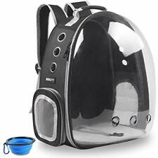 Cat, dog Backpack Carriers, Airline-Approved Ventilate Transparent Backpack