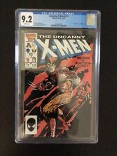 CGC 9.2 Uncanny X-Men 212 White Pages - Free Shipping
