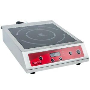 Avantco Countertop Induction Digital Single Range Cooker - 208/240V, 3500W