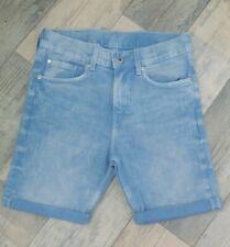 Boys H&M Age 9-10 Light Denim Shorts BNWT