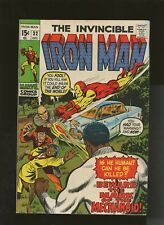Iron Man 32 VG/FN 5.0 * 1 Book Lot * Beware the Mechanoid by Brodsky & Heck!