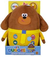 Hey Duggee Woof Soft Toy Figure Talking Plush Tag For Kids New Character