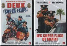 DEUX SUPER FLICS + LES SUPER FLICS DE MIAMI : TERENCE HILL, BUD SPENCER .. 2 DVD