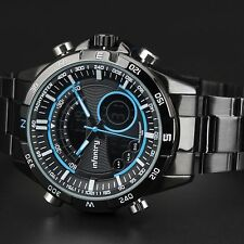 Infant 00006000 Ry Mens Digital Quartz Wrist Watch Chronograph Army Sport Stainless Steel