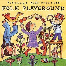 Folk Playground, CD 2006 Putumayo Kids NEW! FREE Shipping!