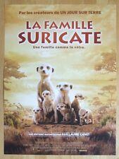 AFFICHE - LA FAMILLE SURICATE JAMES HONEYBORNE