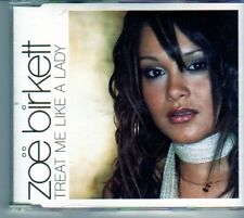 (DO88) Zoe Birkett, Treat Me Like A Lady - 2003 CD