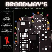 Broadway's Greatest Gifts: Carols for a Cure 2001 by Various Artists cd SEALED