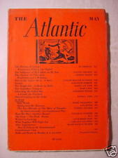 ATLANTIC May 1937 LINCOLN STEFFENS ALBERT JAY NOCK +++