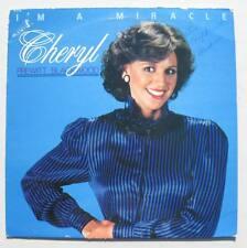 CHERYL PREWITT BLACKWOOD I'm A Miracle Miss America 1980 vinly Lp rare autograph