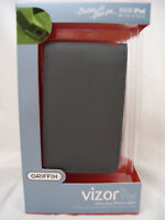 GRIFFIN Vizor Leather case Grey for Apple iPod video 30GB NEW Classic