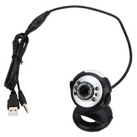 50M 6 LED 8 Mega Pixel Camera Web Cam USB Webcam with Mic for PC Laptop Computer