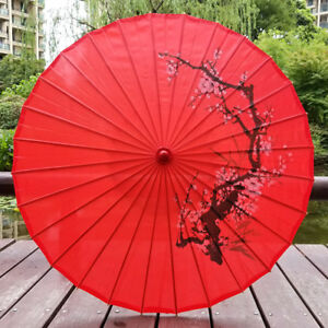 Chinese Classical Style Art Umbrella Silk Cloth Umbrella Decoration Stage Props