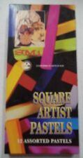 Smi Square Artist Pastels 12 Assorted Colors