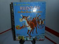 VTG 1990 RUDOLPH THE RED NOSED REINDEER A LITTLE GOLDEN BOOK RICHARD SCARRY