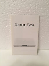 Apple Brochure / Flyer - Das neue iBook - Power PC G3