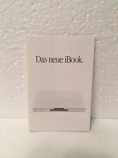 Apple Brochure / Flyer - Das neue iBook - Power PC G3