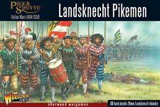 28mm Warlord Games Landsknechts Pikemen, Italian Wars, Pike And Shot, BNIB