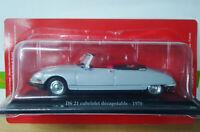 Voiture 1/43e Atlas CITROEN DS - DS 19 Cabriolet Décapotable - 1961