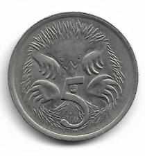 Australia Queen Elizabeth II 5 Cents Coin - 1981