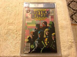 Justice League International  #7  Graded 9.2  Batman cover