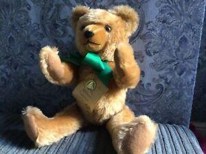 Hermann Tradition Mohair Teddy Bear.