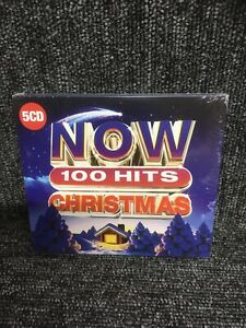 Now 100 Hits: Christmas (2019) 5CD Box Set - NEW & SEALED - FREE UK POST 5 CD