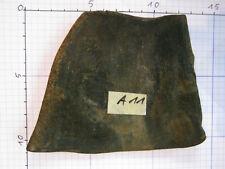 Original Büffelhorn schwarz ca. 10x10x0,4cm für japanische Katana Tanto Nr. A11