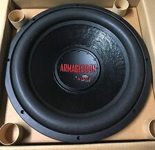 "New Old School Kove Audio ARMAGEDDON DVC 15"" Competition Subwoofer,RARE,USA"