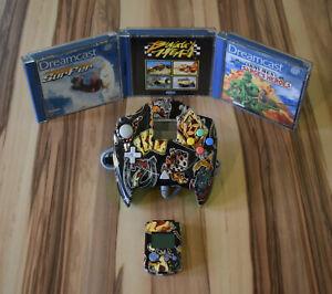 "Sega Dreamcast Controller - Edition ""Casino"" inkl. VMU + 3 Spiele"