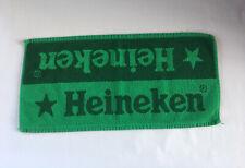 Heineken Dark & Light Green Bar Towel 19� X 9� Pub Beer Brewery