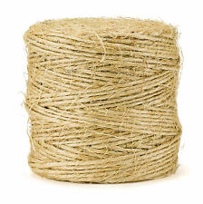 420' Premium Sisal Twine String, All-Natural, Cord Rope for Craft Gift DIY