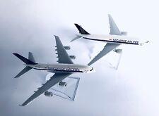 SINGAPORE A380 & B777 Model Plane ✈️ Apx 14cm Long Diecast Metal Airline