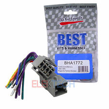 BHA1772 Aftermarket Radio Replacement Wire Harness for Ford/Lincoln/Mercury