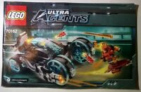 LEGO 70162 Ultra Agents Manual Booklet INSTRUCTIONS ONLY