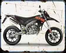 Aprilia Sx 50 13 01 A4 Metal Sign Motorbike Vintage Aged