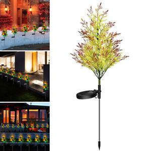 74cm Solar Powered LED Fairy Tree Light Twig Tree Lamp Xmas Party Decoration AU