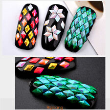 12 Colors Colorful Shiny Nail Art Glitter Sequins For Nail Decorations Diamond