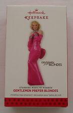 Hallmark 2013 Marilyn Monroe Movie Gentlemen Prefer Blondes Christmas Ornament