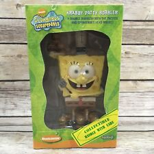 Toy Vault 2002 SpongeBob SquarePants Krabby Patty Bobbler Nickelodeon Double