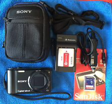 Sony Cyber-shot DSC-HX5V 10.2 MP 10x Wide-Angle Zoom Digital Camera~~Nr  Mint~~
