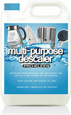 5L DESCALER LIMESCALE REMOVER COFFEE MACHINE DECALERS KETTLE STEAM IRON SHOWER