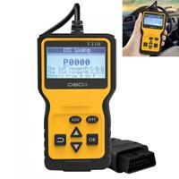 V310 OBDII OBD2 9V - 16V 16Pin Car Diagnostic Scanner LCD Display Code Reader