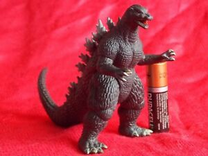 "GODZILLA  BANDAI PVC SOFUBI ACTION MINI Figure HEIGHT 3.5"" 9cm TOY KAIJU  UK DSP"